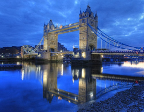 Tower Bridge, Tamigi Londra