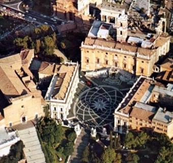 Piazza del Campidoglio, il capolavoro di Michelangelo