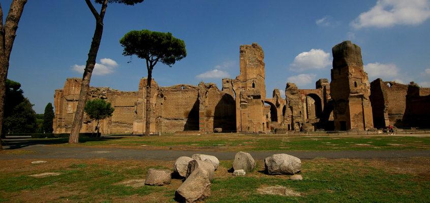 Le decorazioni e i sotterranei delle Terme di Caracalla