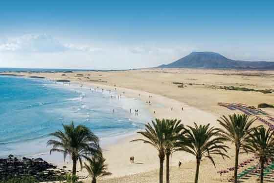 Fuerteventura, la spiaggia delle Canarie