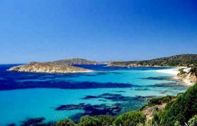 Spiaggia di Tuerredda, sabbia candida e mare turchese