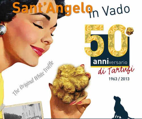 A Sant'Angelo in Vado, sua maestà il tartufo