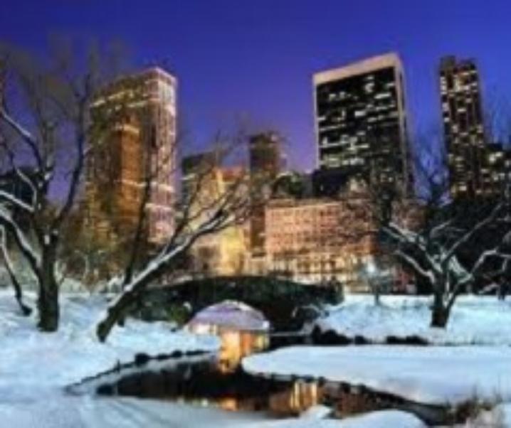 A Manhattan, nel cuore di New York. E d'inverno costa meno