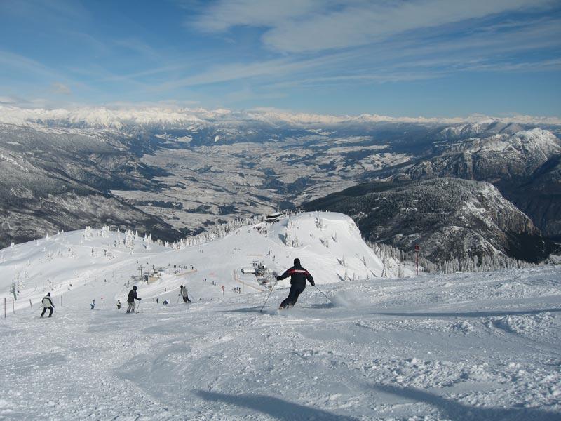 Da Paganella ad Andalo, sciare in Trentino