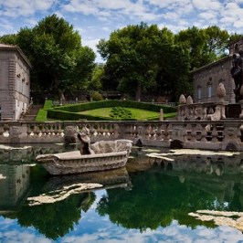 Giardini Villa Lante, il labirinto verde