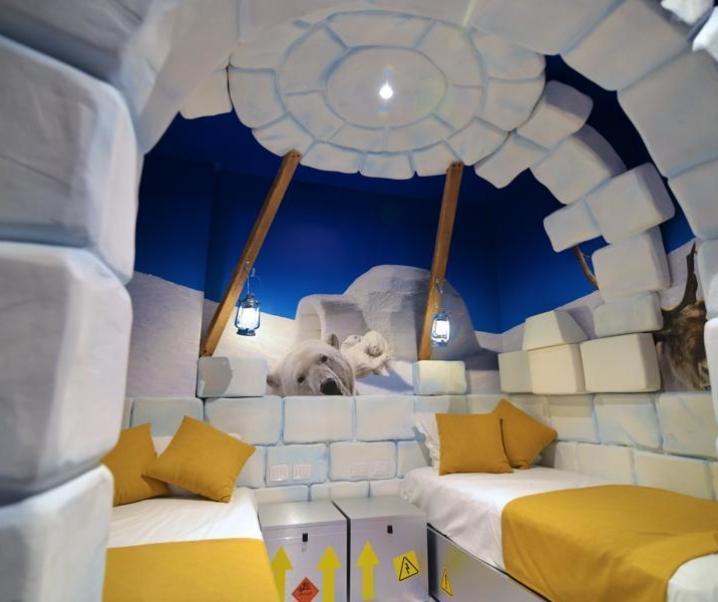 A Natale a Gardaland si dorme nell'igloo