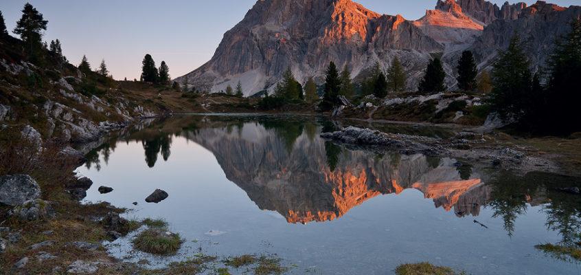 Cortina D'Ampezzo in autunno: lo spettacolo del foliage