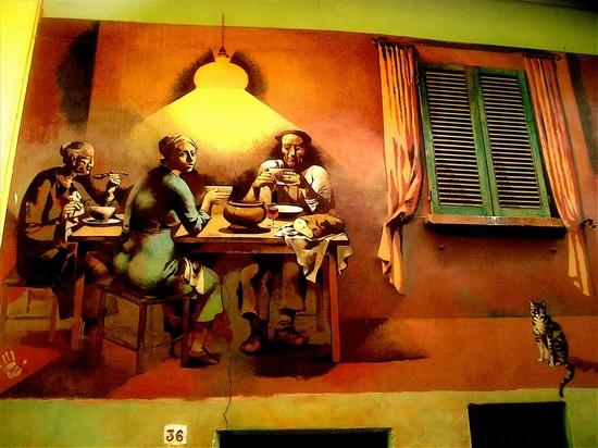 Dozza, il borgo dei murales