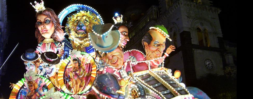 Carnevale di Acireale 2017, il programma dell'evento più colorato d'Italia