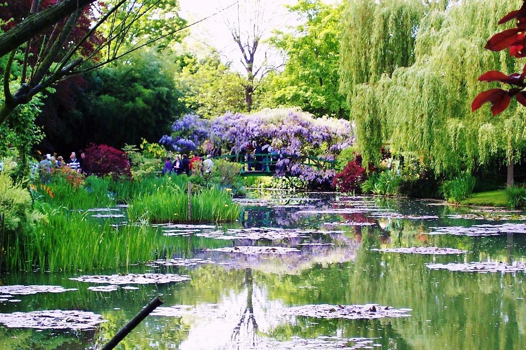 In normandia nel giardino di monet emozioni in viaggio - Giardino delle ninfee ...
