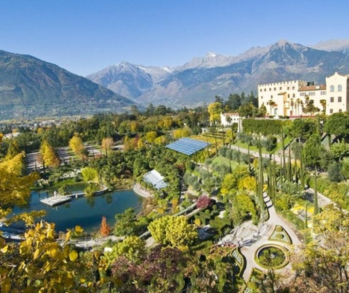 Giardini di Castel Trauttmandsdorff, splendore imperiale