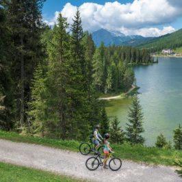 Pista ciclabile Auronzo Misurina, il Cadore in bicicletta