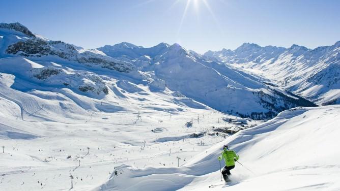 Tirolo: Silvretta Arena, neve e divertimento a Ischgl