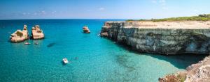 spiaggia torre dell'orso Otranto