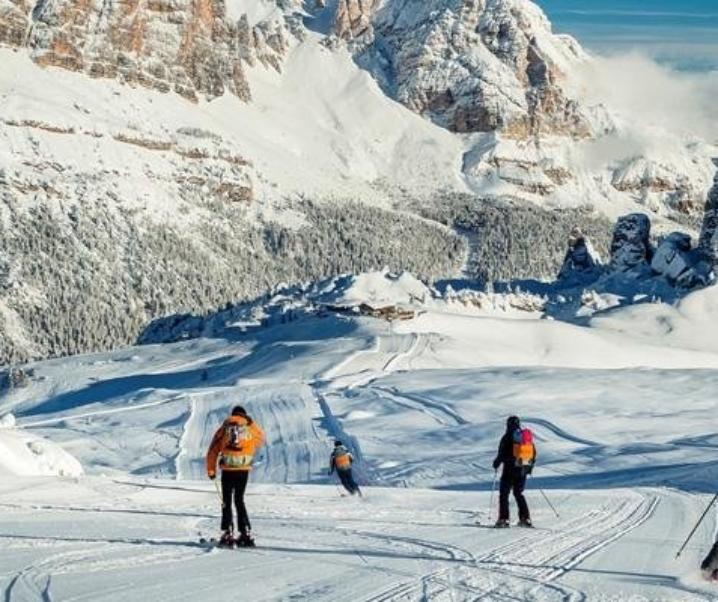 A Cortina d'Ampezzo sulle piste dei campioni