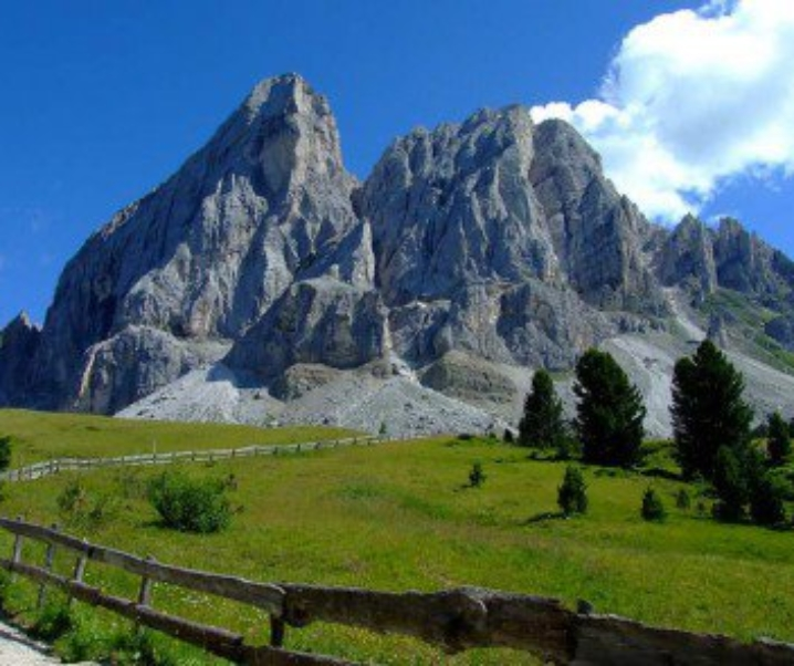 Valle di Luson in estate, relax e natura