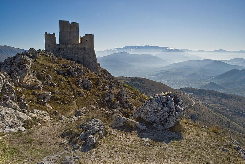 Rocca Calascio, castello da film