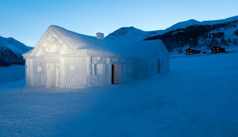 Stanza di ghiaccio Livigno, esperienza da brividi