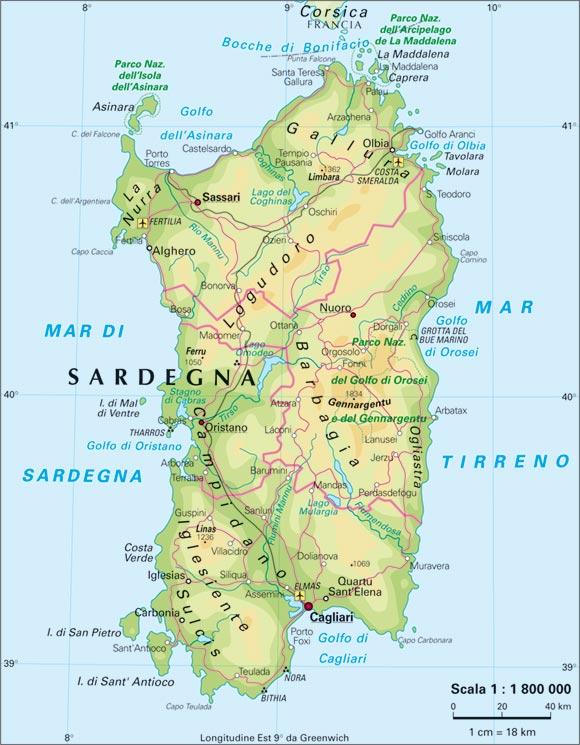 Cartina Sardegna Con Aeroporti.Informazioni Utili Sardegna Come Arrivare E Come Muoversi Travel Dreams