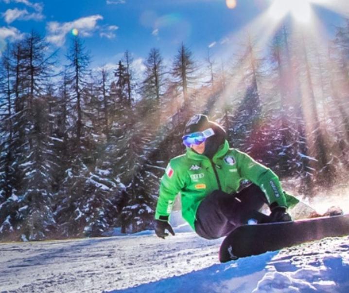 Snowboard in Valle d'Aosta, curve e salti con la tavola