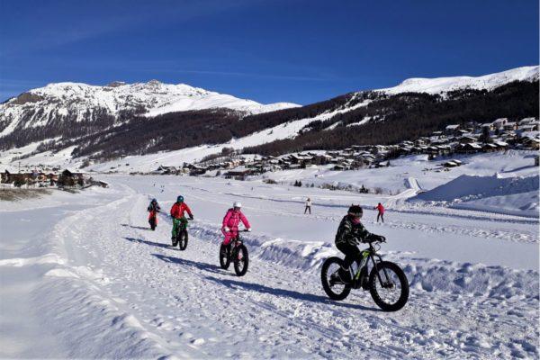 In fat bike a Livigno: grasse pedalate sulla neve